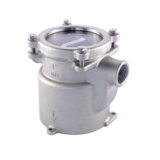 stainless steel marine water strainer